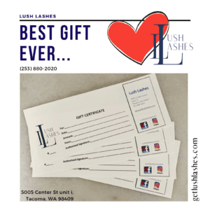 Lush Lashes Gift Certificates